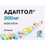 АДАПТОЛ®, капс. 300 мг блистер, №20, Олайнфарм (Латвия, Олайне)