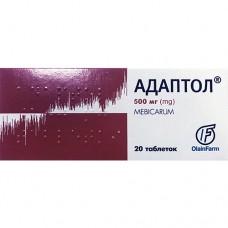 АДАПТОЛ®, табл. 500 мг, №20, Олайнфарм (Латвия, Олайне)