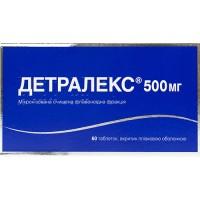 ДЕТРАЛЕКС, табл. п/плен. оболочкой 450 мг + 50 мг, №60, Servier (Франция)