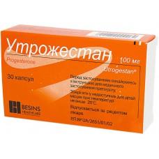 УТРОЖЕСТАН®, капс. 100 мг, №30, Besins Healthcare (Бельгия)