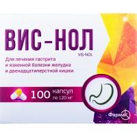 ВИС-НОЛ®, капс. 120 мг блистер в пачке, №100, Фармак (Украина, Киев)